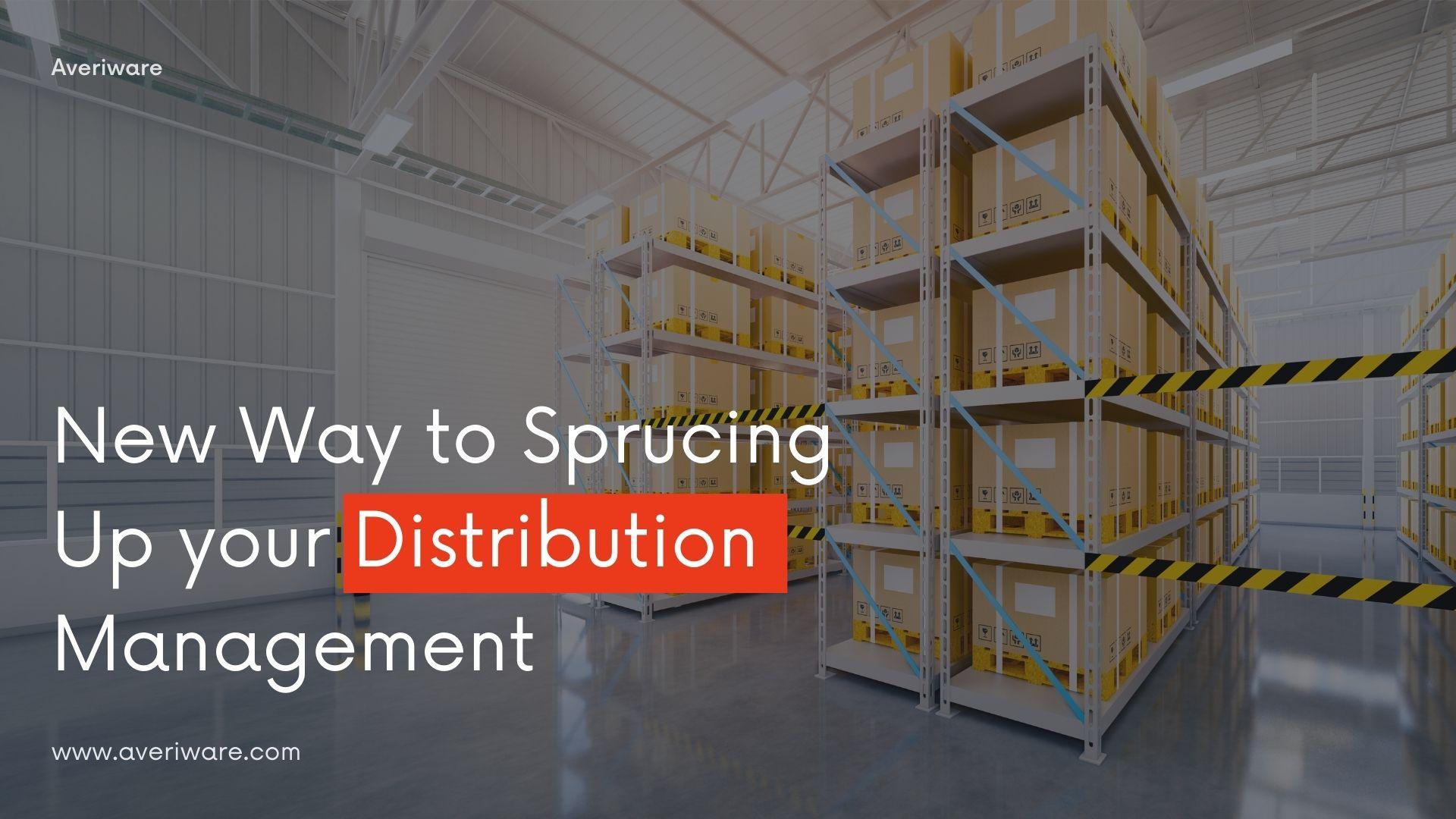 Distribution Cloud ERP Software