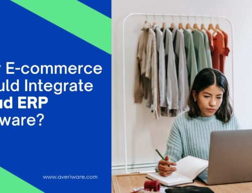 Why E-commerce should integrate Cloud ERP Software?